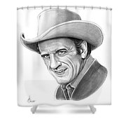 James Arnes Shower Curtain
