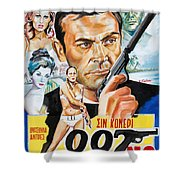James Bond Dr.no 1962 Shower Curtain