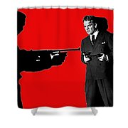 James Cagney As Gangster  Rocky Sullivan In Angels With Dirty Faces 1938-2008 Shower Curtain