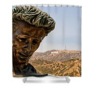 James Dean - Griffith Observatory Shower Curtain