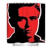 James Dean 009 Shower Curtain
