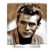 James Dean, Actor Shower Curtain