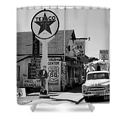 James Dean On Route 66 Shower Curtain