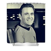 James Doohan, Scotty Shower Curtain