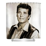 James Garner By Mb Shower Curtain