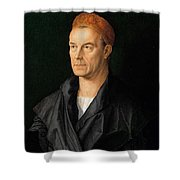 James II Fugger The Rich Shower Curtain