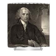 James Madison - Fourth President Of The United States Of America Shower Curtain