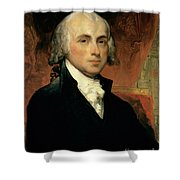 James Madison Shower Curtain