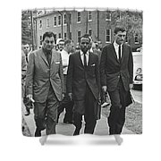 James Meridith And Ole Miss Integration 1962 Shower Curtain