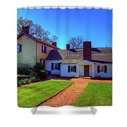 James Monroe's Highland Shower Curtain