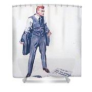 James Montgomery Flagg, 1918 Shower Curtain