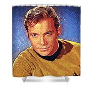 James T. Kirk Shower Curtain