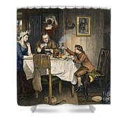 James Watt (1736-1819) Shower Curtain