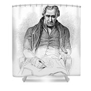 James Watt, Scottish Inventor Shower Curtain