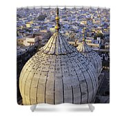 Jami Masjid Aerial Shower Curtain