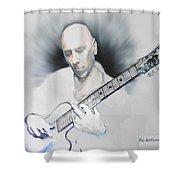 Jamming On Jazz Shower Curtain