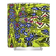 Janca Abstract # 6731eac1 Shower Curtain