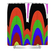 Jancart Drawing Abstract #8455pc Shower Curtain