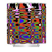 Jancart Drawing Abstract #8455pcws Shower Curtain