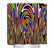 Jancart Drawing Abstract #8455wspc Shower Curtain