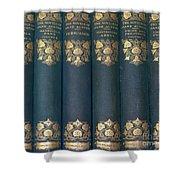 Jane Austain Books Shower Curtain