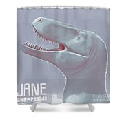 Jane Is A Fossil Specimen Of Small Shower Curtain