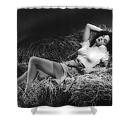 Jane Russell In The Outlaw Shower Curtain