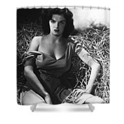 Jane Russell In The Outlaw Wow Shower Curtain