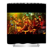 Janet Jackson 94-2977 Shower Curtain