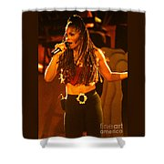 Janet Jackson 94-2994 Shower Curtain