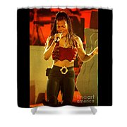 Janet Jackson 94-3000 Shower Curtain