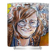 Janis Joplin Shower Curtain