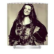 Janis Joplin, Music Legend Shower Curtain