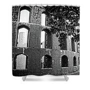 Jantar Mantar - Monochrome Shower Curtain