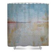 January Beach Shower Curtain
