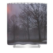 January Fog 3 Shower Curtain