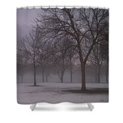 January Fog 4 Shower Curtain