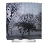 January Fog 6 Shower Curtain