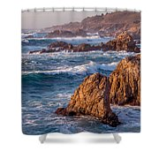 January In Big Sur Shower Curtain