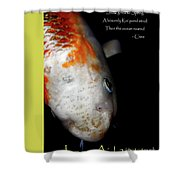 Japan Aid 2011 . All Proceeds Go To Japan Earthquake And Tsunami Relief Aid Shower Curtain