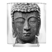 Japan: Buddha Shower Curtain
