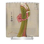 Japan: Geisha, C1794 Shower Curtain