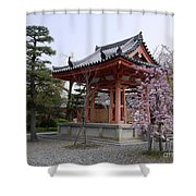 Japan Kiyomizu-dera Temple Shower Curtain