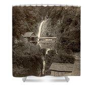 Japan: Kobe, 1890s Shower Curtain