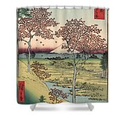 Japan: Maple Trees, 1858 Shower Curtain