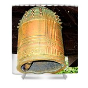 Japanese Bell Shower Curtain