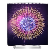 Poppy Day Shower Curtain