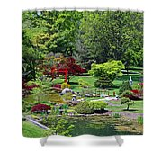 Japanese Garden I Shower Curtain