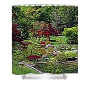 Japanese Garden II Shower Curtain