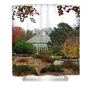 Japanese Garden Roger Williams Park Shower Curtain